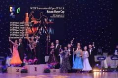 Winners of WDSF Kaunas Open 2017 senior 3